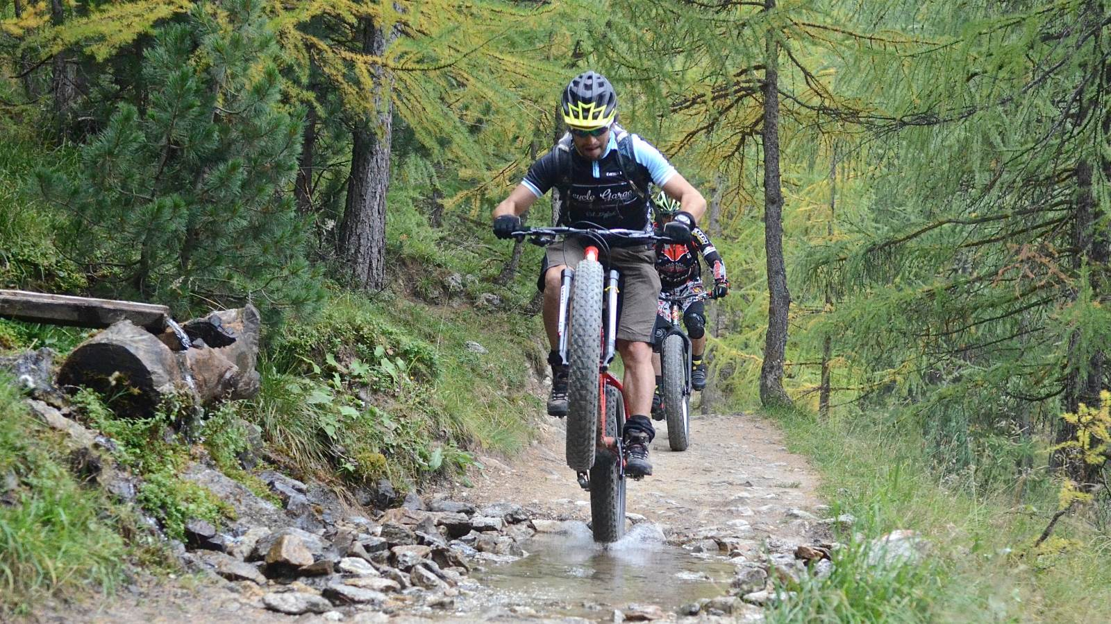 Divertirsi in mountain bike
